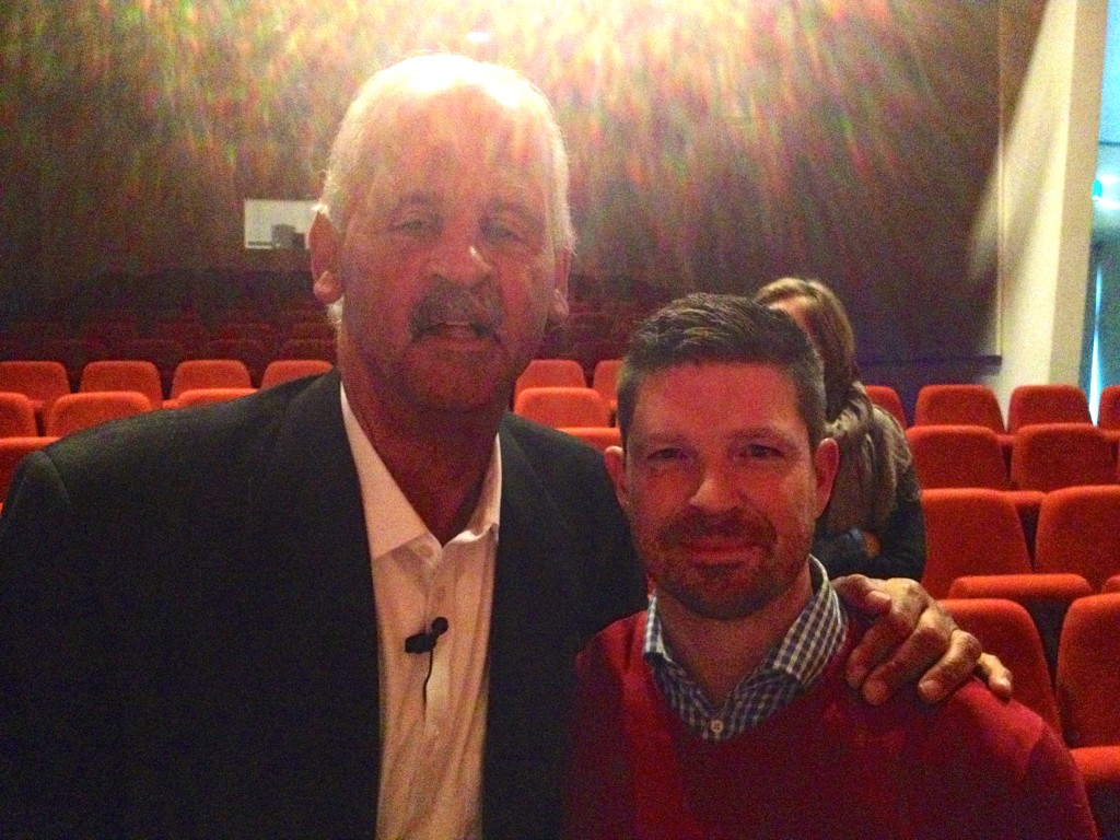 Carl Brooks and Stedman Graham
