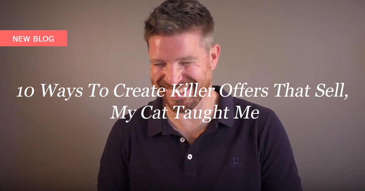 10 Ways To Create Killer Offers That Sell, My Cat Taught Me
