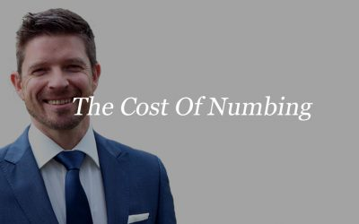 The Cost Of Numbing