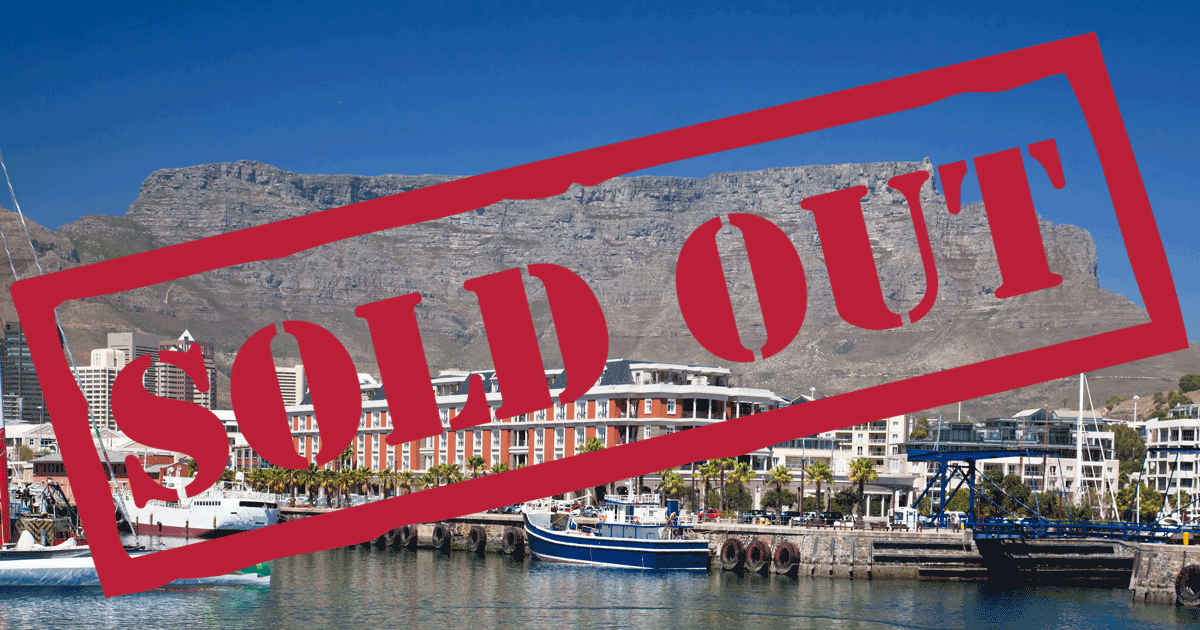 Sold Out Cape Town
