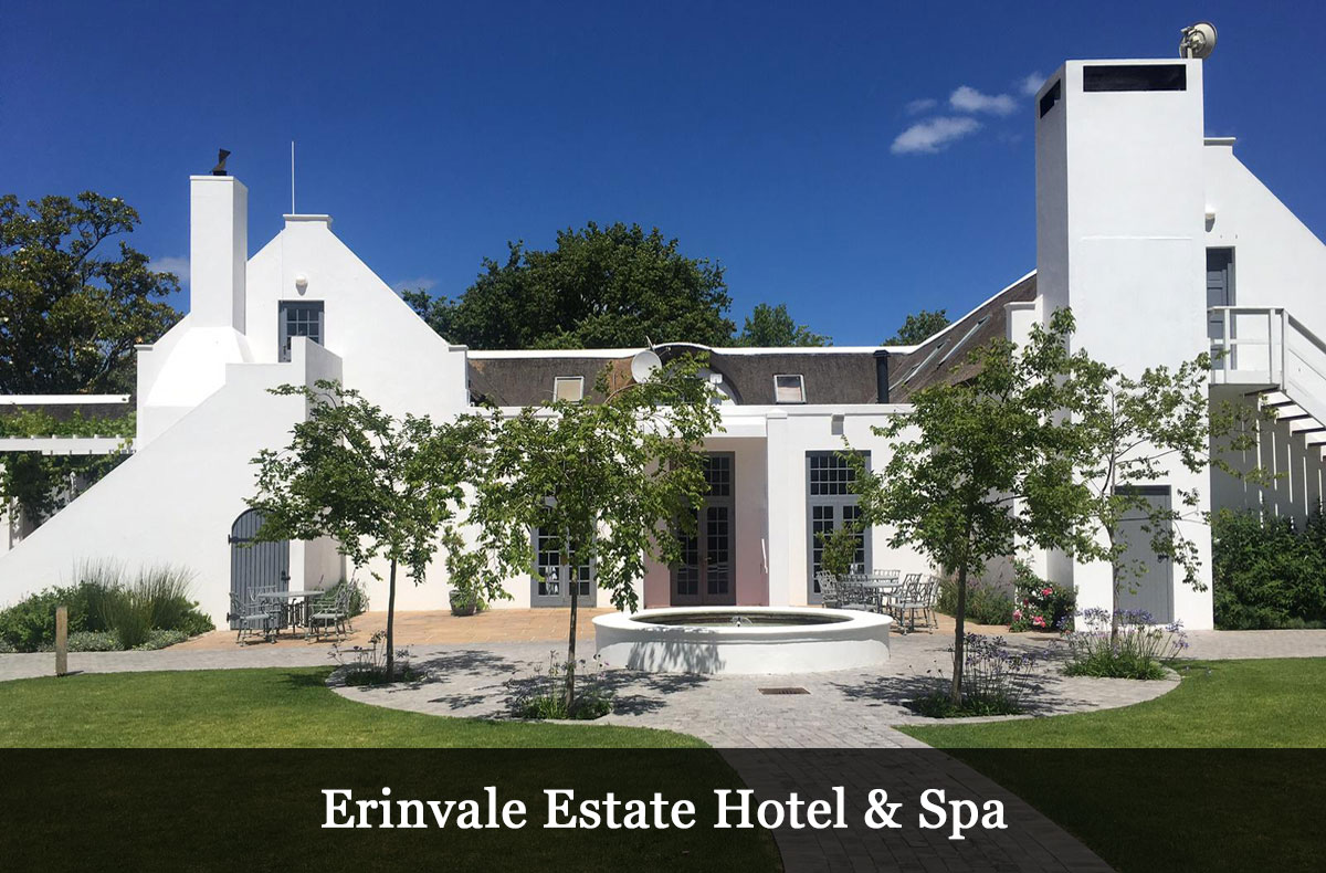 Erinvale Estate Hotel & Spa Location for the 11th Wealthy Coach Retreat in Stellenbosch, South Africa