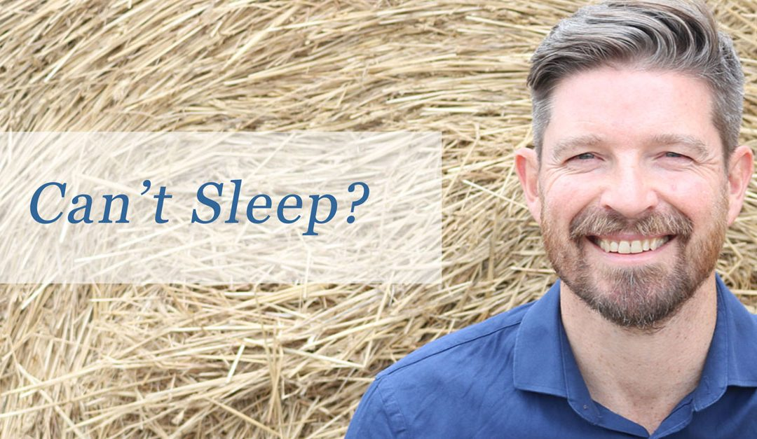 Can't Sleep And Is It Interfering With Your Business?